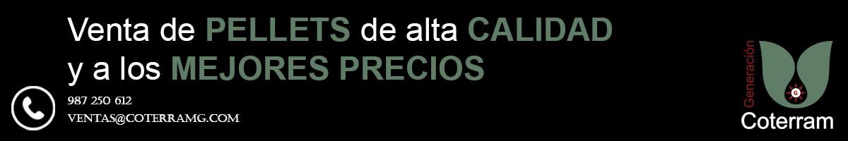 Banner Venta de pellets en León